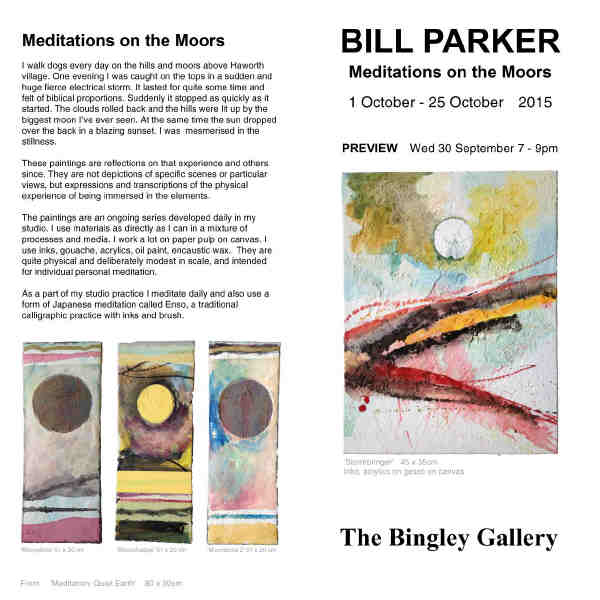 Bill Parker exhibition blurb